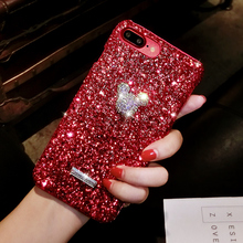 WTSZKL Luxury Glitter diamond Phone Case For iPhone 7 X 6 6S 8 Plus Cover XS MAX XR 8Plus 7Plus Coque Funda