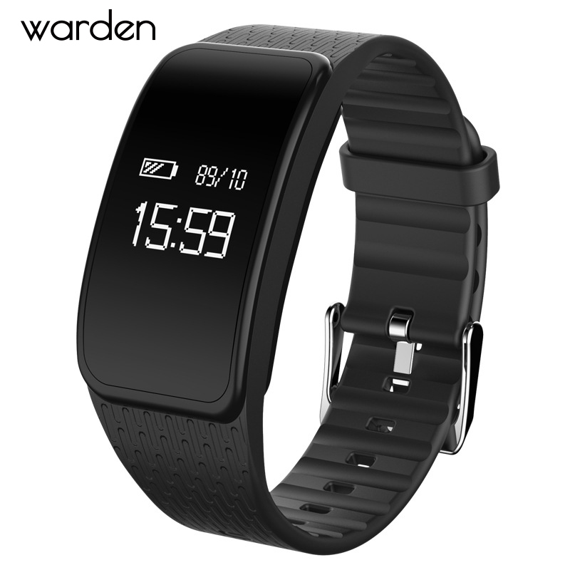 OLED Smart Watch Blood Pressure Band Heart Rate Monitor Smart Bracelet Bluetooth Waterproof Smart Wristband For iOS Android Gift jaysdarel heart rate blood pressure monitor smart watch no 1 gs8 sim card sms call bluetooth smart wristwatch for android ios