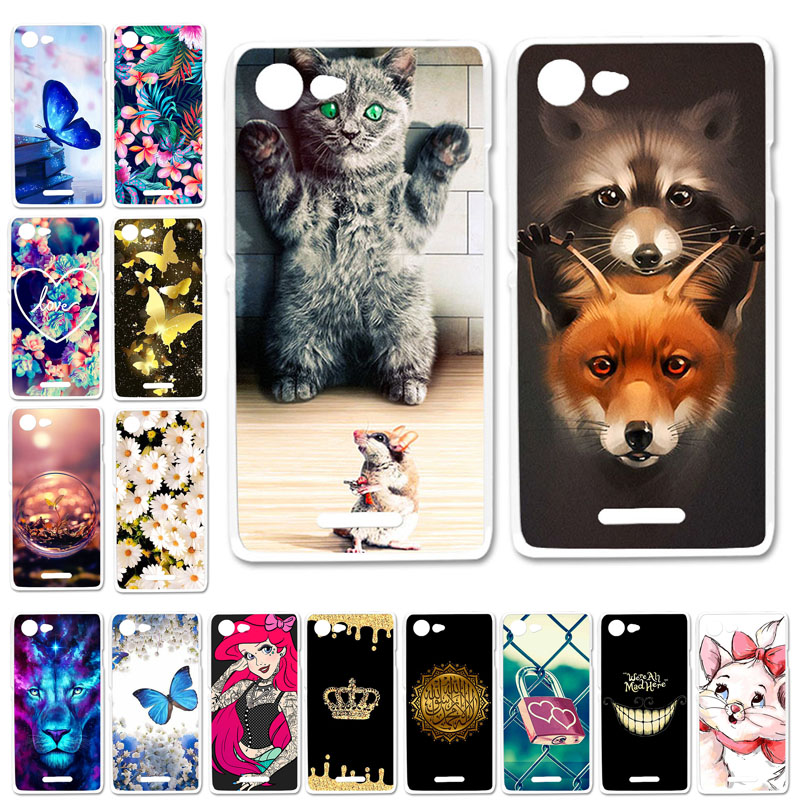 Soft TPU Phone Case For <font><b>Sony</b></font> <font><b>Xperia</b></font> E2 <font><b>E3</b></font> Cases Silicone Cute Cat Bumper D2203 D2243 <font><b>D2202</b></font> D2206 D2212 Cover Fundas Coque Skin image
