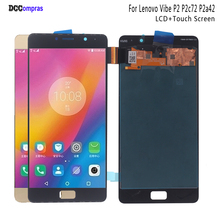 For Lenovo Vibe P2 P2c72 P2a42 LCD Display Touch Screen Assembly Phone Parts For Lenovo Vibe P2 Screen LCD Display Free Tools original k910 lcd touch panel for lenovo vibe z k910 lcd display touch screen digitizer panel assembl free by post
