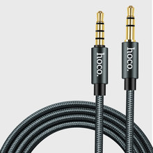 3.5mm Audio cable nylon braided function key aluminum interface audio cable 1 meter(China)