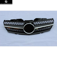 Racing Grills R230 SL500 SL600 SL63 AMG black front bumper Mesh Grille For Mercedes Benz R230 SL350 SL500 01 06
