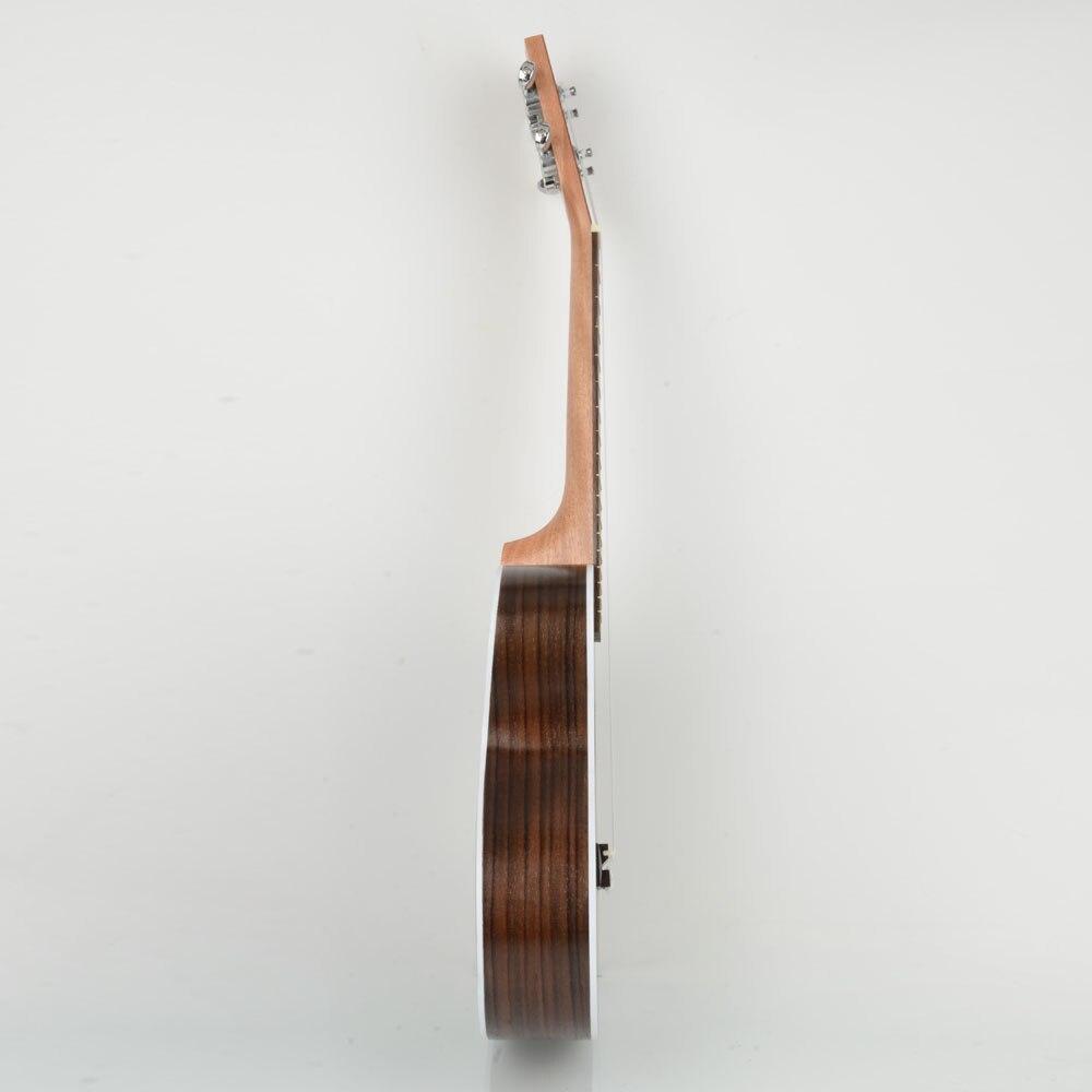24 дюймов Sapele нейлон 4 струны концертный банджо Уке Гавайские гитары укулеле бас гитары ra для музыкальных струнных инструментов подарок для ... - 3