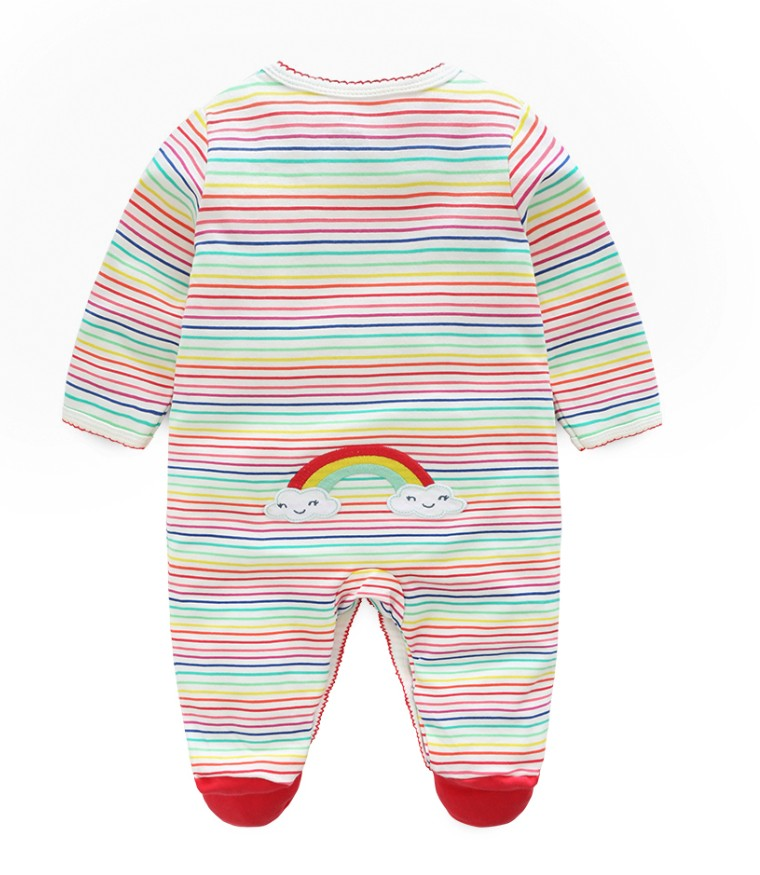 HTB1hFCik qWBKNjSZFAq6ynSpXa5 Newborn baby pajamas unicorn cotton romper boys clothes overalls romper infants bebes jumpsuit premature infant baby clothes