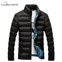 2016 Winter Solid Men Jackets Spring Men S Cotton Blend Mens Jacket And Coats Casual Thick