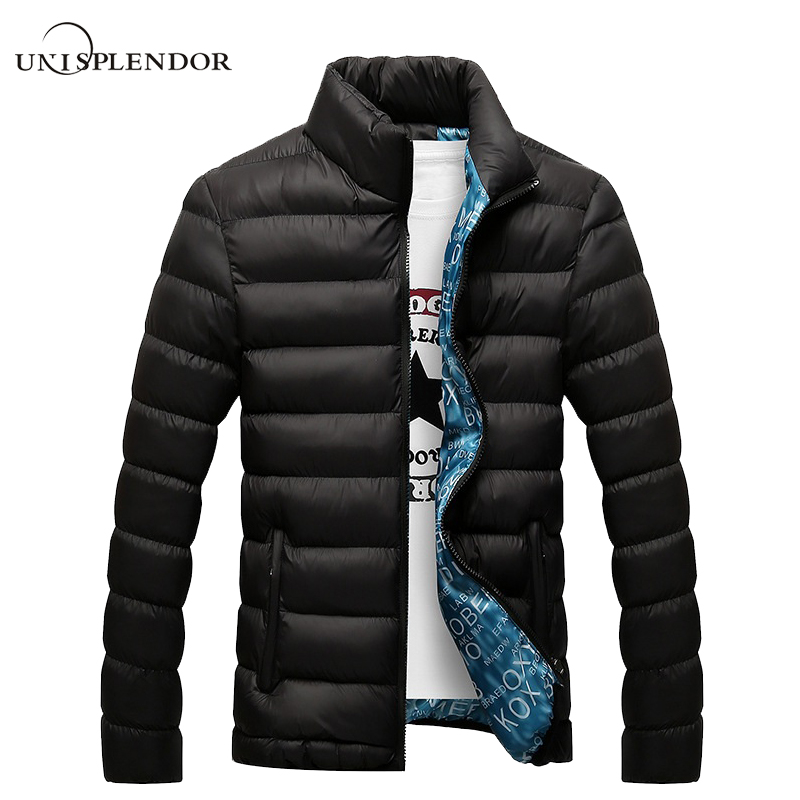 unisplendor Winter Men Jacket 2018 Brand Casual Mens Jackets And Coats Thick Parka Men Outwear 4XL Jacket Male Clothing YN668