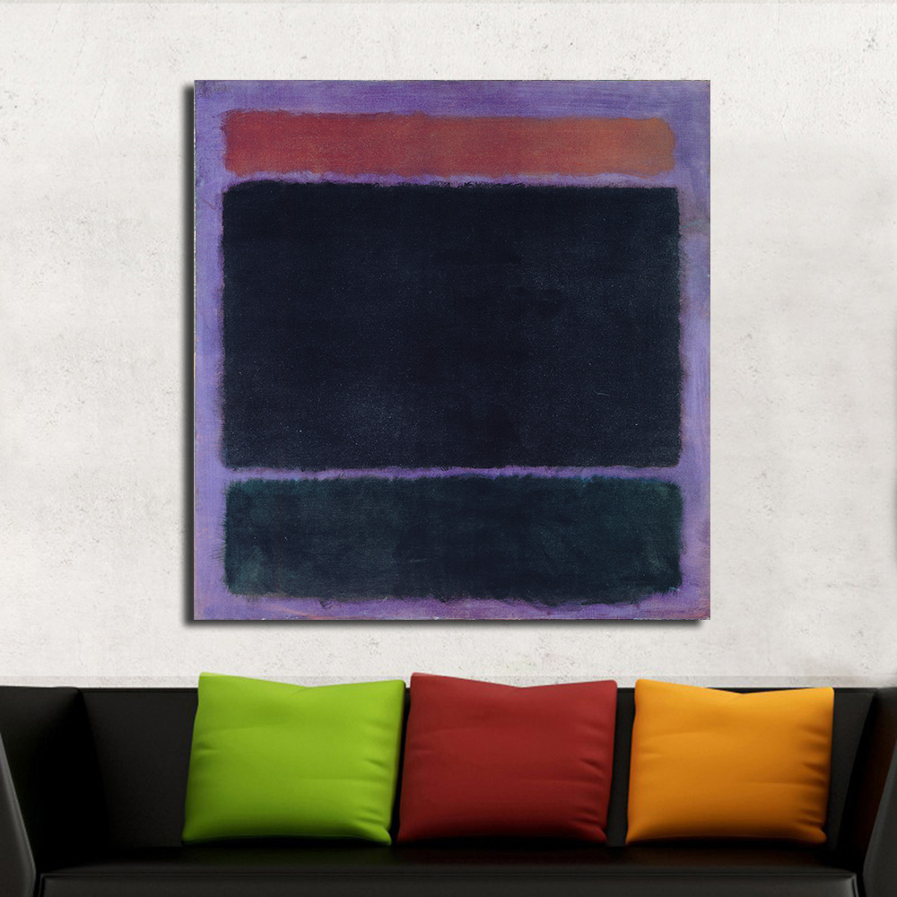 Mark Rothko Classical Oil Painting Home Decor Canvas Painting Picture Room Modern Wall Art Living No FrameMark Rothko Classical Oil Painting Home Decor Canvas Painting Picture Room Modern Wall Art Living No Frame