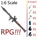 """1:6 1/6 12 """"Figuras de Ação Modelo de Arma Arma Arma RPG Deluxe VER"""