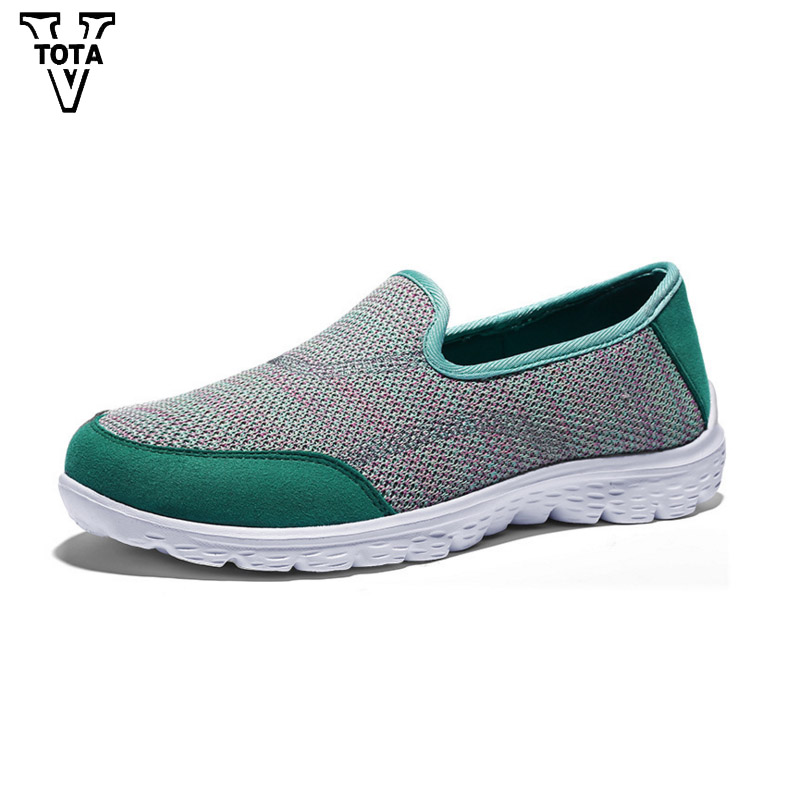 VTOTA Fashion Air Mesh Summer Women Shoes Walking Flats shoes woman Casual Shoes Designers Loafers Ladies Sapatos Mujer JXXY hosteven women shoes casual sport flats fashion shoes walking spring summer loafers breathable air mesh walking shoes