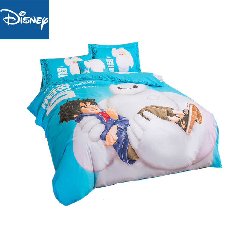 Disney twin size bedding set cotton for boys bed decor full comforter covers queen bedspread fitted sheet 3pcs  kids home linenDisney twin size bedding set cotton for boys bed decor full comforter covers queen bedspread fitted sheet 3pcs  kids home linen