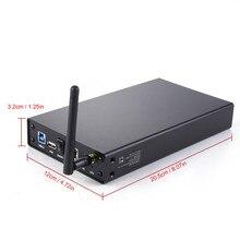 2ไตรโลไบต์HDD Wifi Repetidor 3.5 Sata Enclosureแล็ปท็อปWifiกรณีExtenderในHdd USB 3.0ฮาร์ดดิสก์ไดรฟ์E Nclosure USBเราเตอร์ไร้สาย