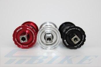 Велосипед средняя ось титана нижние кронштейны для Brompton складной велосипед 103/107/110/113/119 мм титановый стержень 3 вида цветов