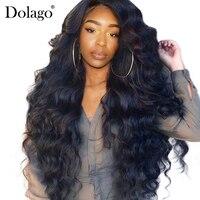 250% плотность Синтетические волосы на кружеве человеческих волос парики для Для женщин предварительно сорвал с ребенком волос черный объем