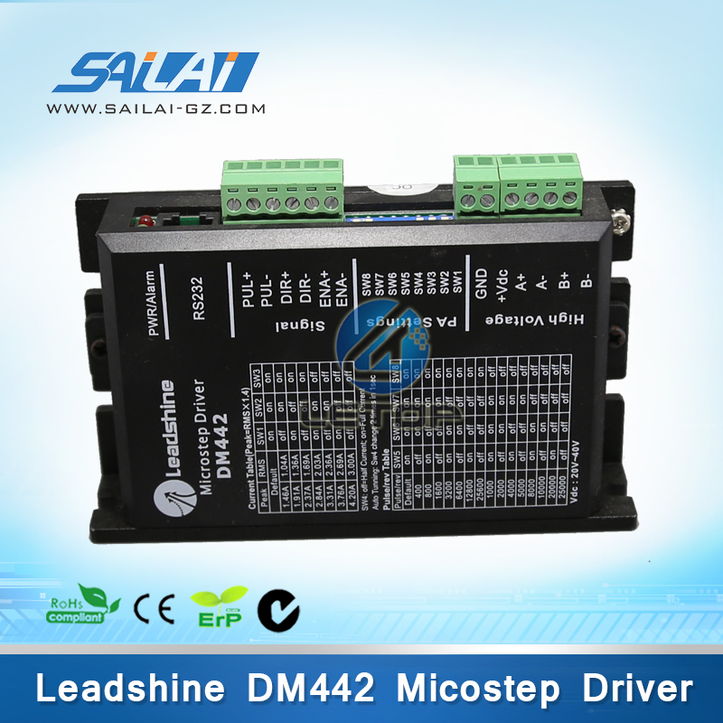 цена на printer Stepper motor Driver Leadshine dm442 driver for stepper motor