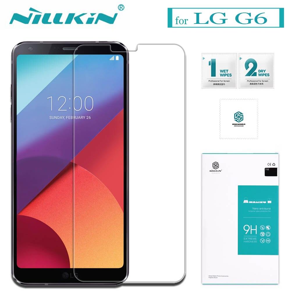 Nilkin for LG G6 Screen Protector Nillkin 9H Hard Amazing H 0.33mm Anti-Explosio