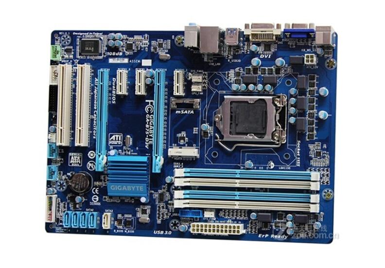 original motherboard for Gigabyte GA-B75-D3V boards LGA 1155 DDR3 B75-D3V mainboard 32GB B75 Desktop motherboard Free shippingoriginal motherboard for Gigabyte GA-B75-D3V boards LGA 1155 DDR3 B75-D3V mainboard 32GB B75 Desktop motherboard Free shipping