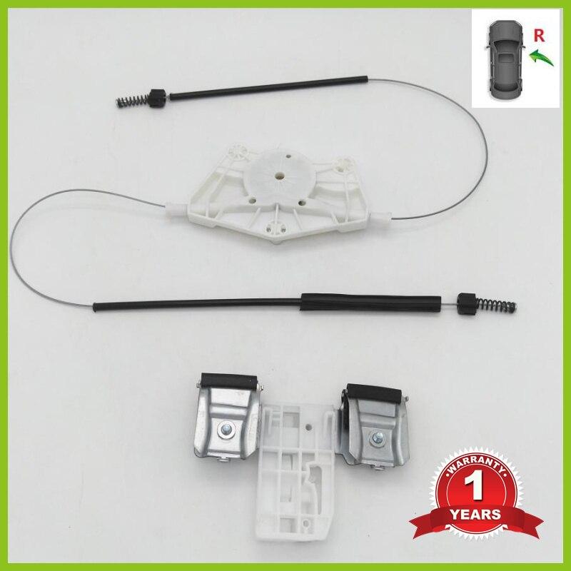 For Skoda Fabia MK2 2007 2008 2009 2010 2011 2012 2013 2014 2015 Car-Styling Front Right Electric Window Regulator Repair Kit