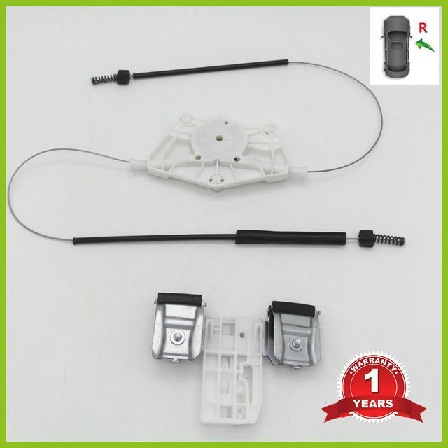 For Skoda Fabia MK2 2007 2008 2009 2010 2011 2012 2013 2014 2015 Car-Styling Front Right Electric Window Regulator Repair Kit