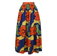 African Style Costume Women Printed Skirt Summer Fashion Loose Skirt