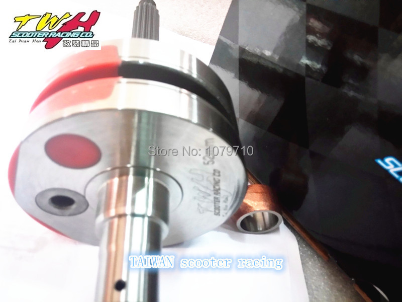 Crankshaft for YAMAHA BWS100cc 52MM+(4 2) High Performance scooter