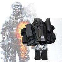 Tactical Beretta Gun Holster Army Pistol Gun Carry Leg Holster Beretta 92 / 96 Airsoft Hunting Thigh Holster Right Hand 3 Colors