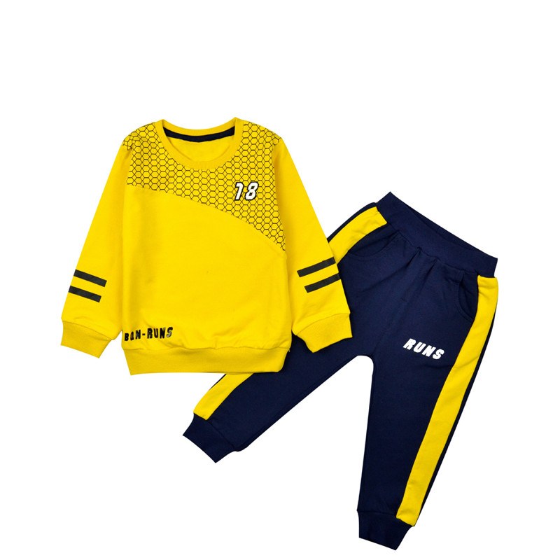 Baby Boy Tracksuit Children Letter Cotton Clothes Sets Kids Casual Sport Suits Toddler Lattice Ball Suit Clothing Costume 2pcs casual kids hoodies clothes boys clothing 2pcs cotton shirt pants toddler boys clothing children suits baby boy clothes sets
