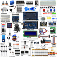 Adeept DIY Eléctrica Ultimate Starter Kit de aprendizaje para Arduino MEGA 2560 con Guía Motor Freeshipping Libro diy diykit