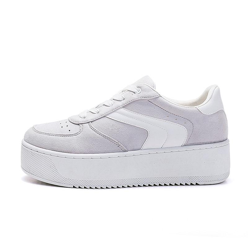 2e87e245139 Kopen Goedkoop ROXDIA merk schoenen vrouw sneakers lente platform vrouwen  schoenen mode dames flats dikke zool trainers plus size 36 41 RXW501 Prijs.