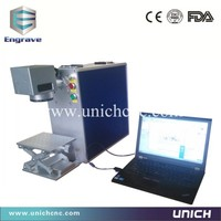 Agents Required 110 110mm Working Area Fiber Laser Marking Machine For Metal