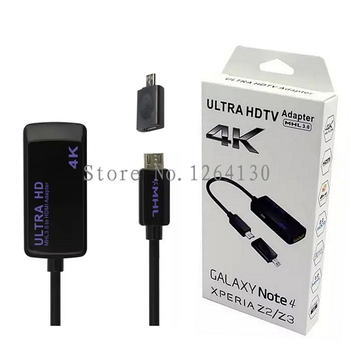 MHL 3 0 to HDMI Adapter 4K Ultra HD High Digital Output Cable 5Pin 11Pin Micro