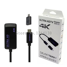 MHL 3.0 to HDMI Adapter 4K Ultra HD High Digital Output Cable 5Pin 11Pin Micro USB for Samsung Galaxy S3 S4 5 Note2 SONY Z2 Z3