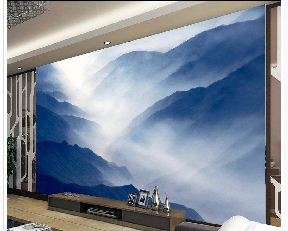 3d wallpaper nature Mountain Ink 3d wallpaper TV background wallpaper the living room sofa backdrop mural 3d coral turtle island large mural 3d wallpaper backdrop living room bedroom 3d wallpaper tv backdrop painting 3d wallpaper