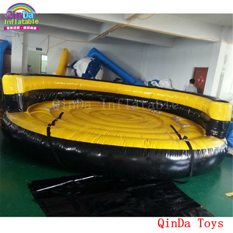 5m diameter 1 m height water games inflatable flying UFO ,water ski inflatable surfing boat with high quatity water ski tube flying sofa inflatable water ski tube crazy ufo inflatable crazy water game crazy ufo