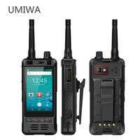 UNIWA Alps W5 3.5 Inch WCDMA Mobile Phone OTG Android 6.0 Quad Waterproof Rugged Cell Phone 2W UHF Talkie Walkie Dual SIM A GPS