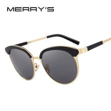 MERRY'S DESIGN Women Retro Cat Eye Sunglasses Lady Polarized Sun Glasses 100% UV Protection S'6214