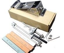 Système universel daffûteuse de bord dapex en métal affilant le couteau 4 meule de pierre à aiguiser afiador de faca