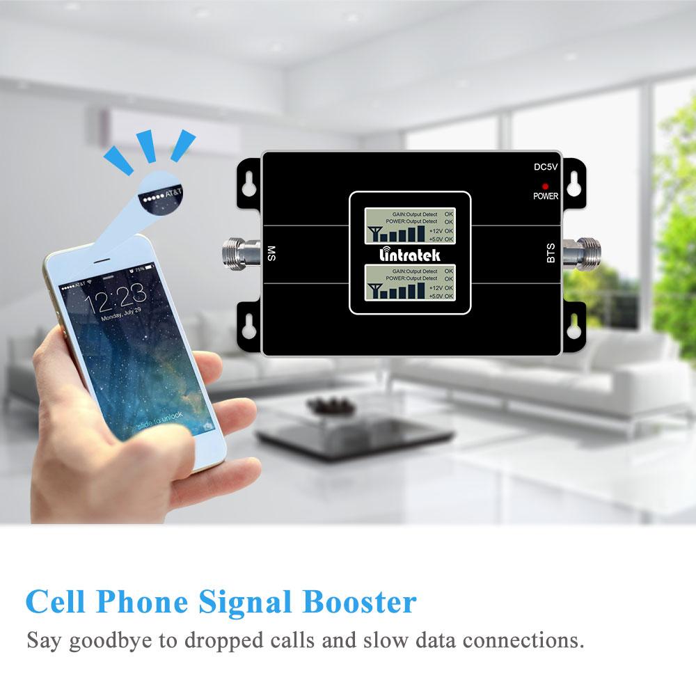 Lintratek YENİ İkiqat LCD 3G GSM Hüceyrəvi Siqnal - Cib telefonu aksesuarları və hissələri - Fotoqrafiya 2