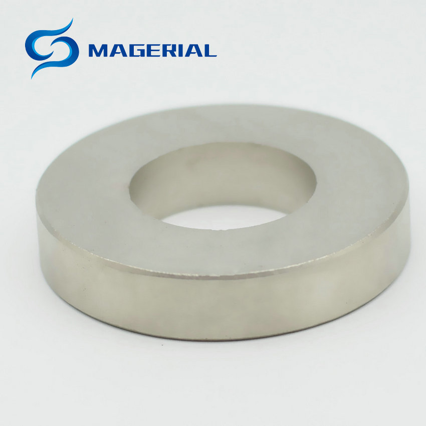1 Pack NdFeB Magnet Ring OD 50x25x10 (+/-0.1)mm Diameter 1.97''Strong Magnets Axially Magnetized Rare Earth Magnet 1 pack grade n38 ndfeb micro ring diameter od 9 5x4x0 95 mm 0 37 strong axially magnetized nicuni coated rare earth magnet