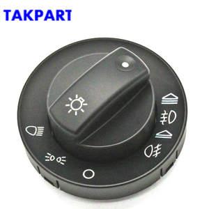 TAKPART Car Headlight Fog Light Switch 8E094153A Repair Kit Cover