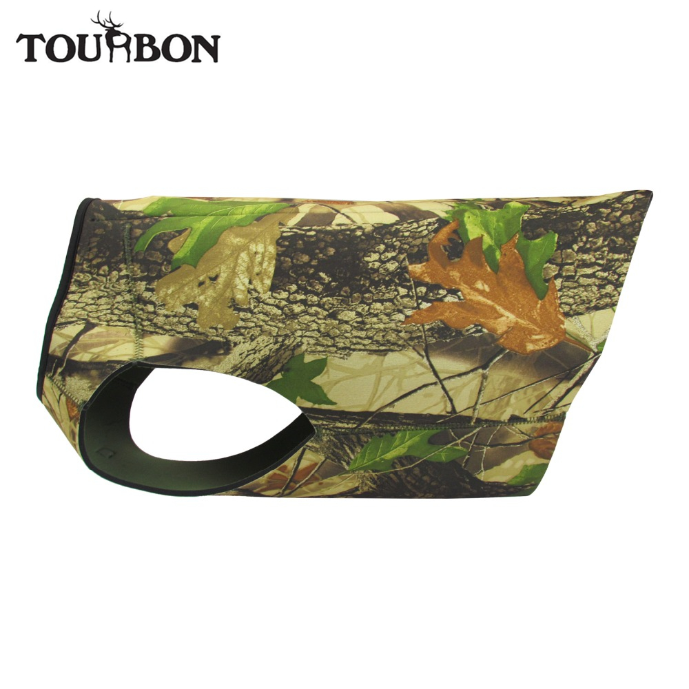 Tourbon Hunting Dogs Vest Outdoor Dog Kamizelka dla Chest Protector Camo Jacket Clothing Neoprene
