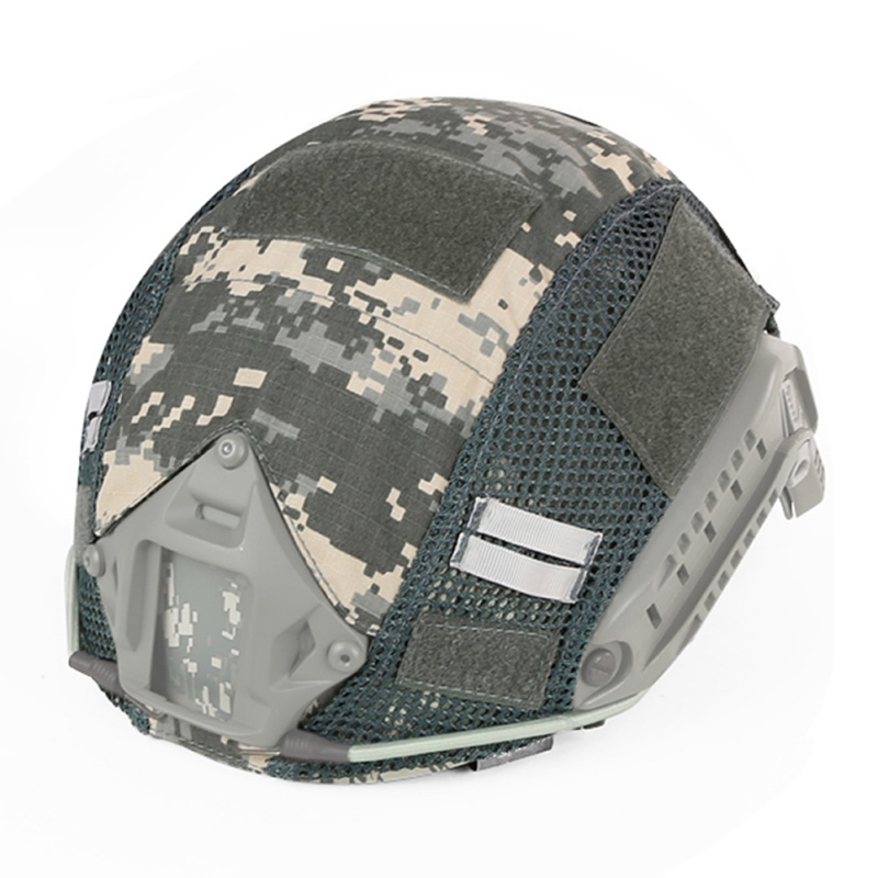 Tactical Helmet Cover Airsoft Paintball Wargame Gear CS FAST Helmet Cover for Head Circumference 52-60cm Helmet