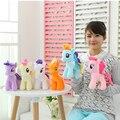 18cm Minecraft Cute Lovely Little Horse Stuffed Plush Toys Children Funko POP  Poni Doll Toys Gift Rainbow Horse Free Shipping