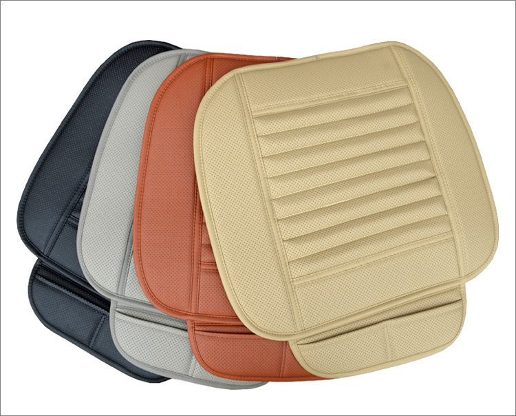 New Faux Leather Car Seat Cushion Four Season Use Car Seat Pad leather Car Seat Cover