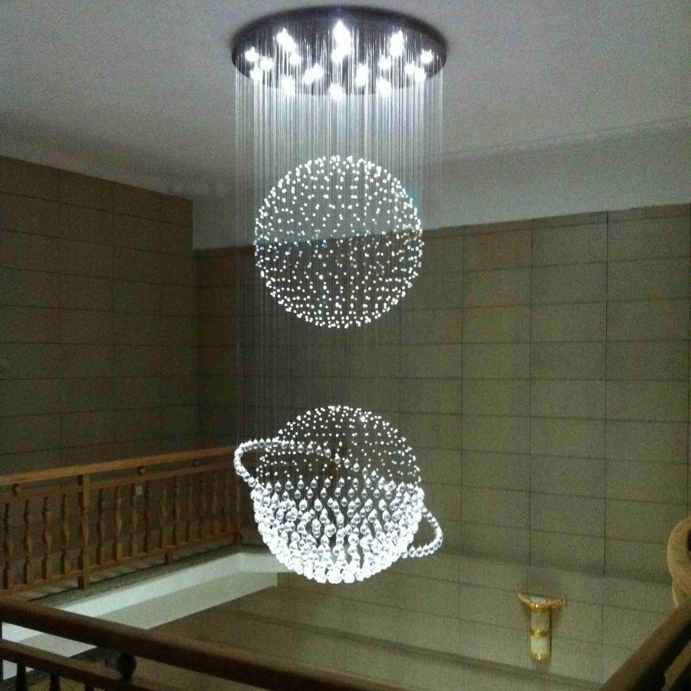Led G10 Modern Stainless Steel Crystal Globe Led Lamp Led
