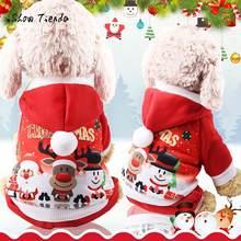 fcb0cf103d1c3 Sweat à capuche pour chiot de noël pour animaux de compagnie sweat-shirts à  capuche pour chien vêtements Costume Costume vêtemen.