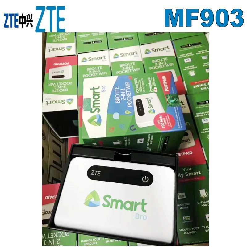 Unlocked <font><b>ZTE</b></font> <font><b>MF903</b></font> Mobile Hotspot with SIM card slot 150Mbps wifi router portable image