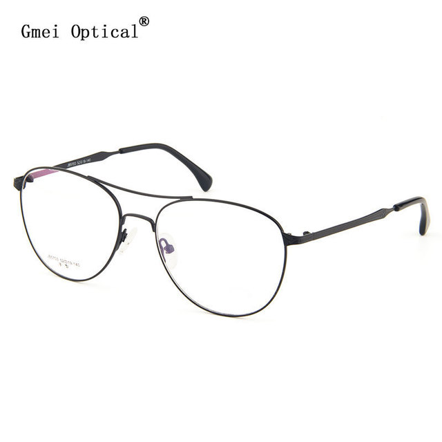 2b6791c2c7 New Arrival JB5703 Classical Retro Collection Women Alloy Full-Rim Glasses  Frames With Two Bars Men s Retro Cool Frames