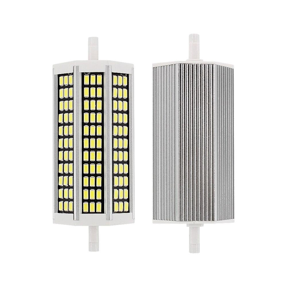 Супер яркий светодиодный светильник R7S, 36, 81, 99, 162, светодиодный светильник s 78, 118, 135, 189 мм, AC220V, SMD 5733, 5730, лампа-кукуруза, заменяемая галогенова...