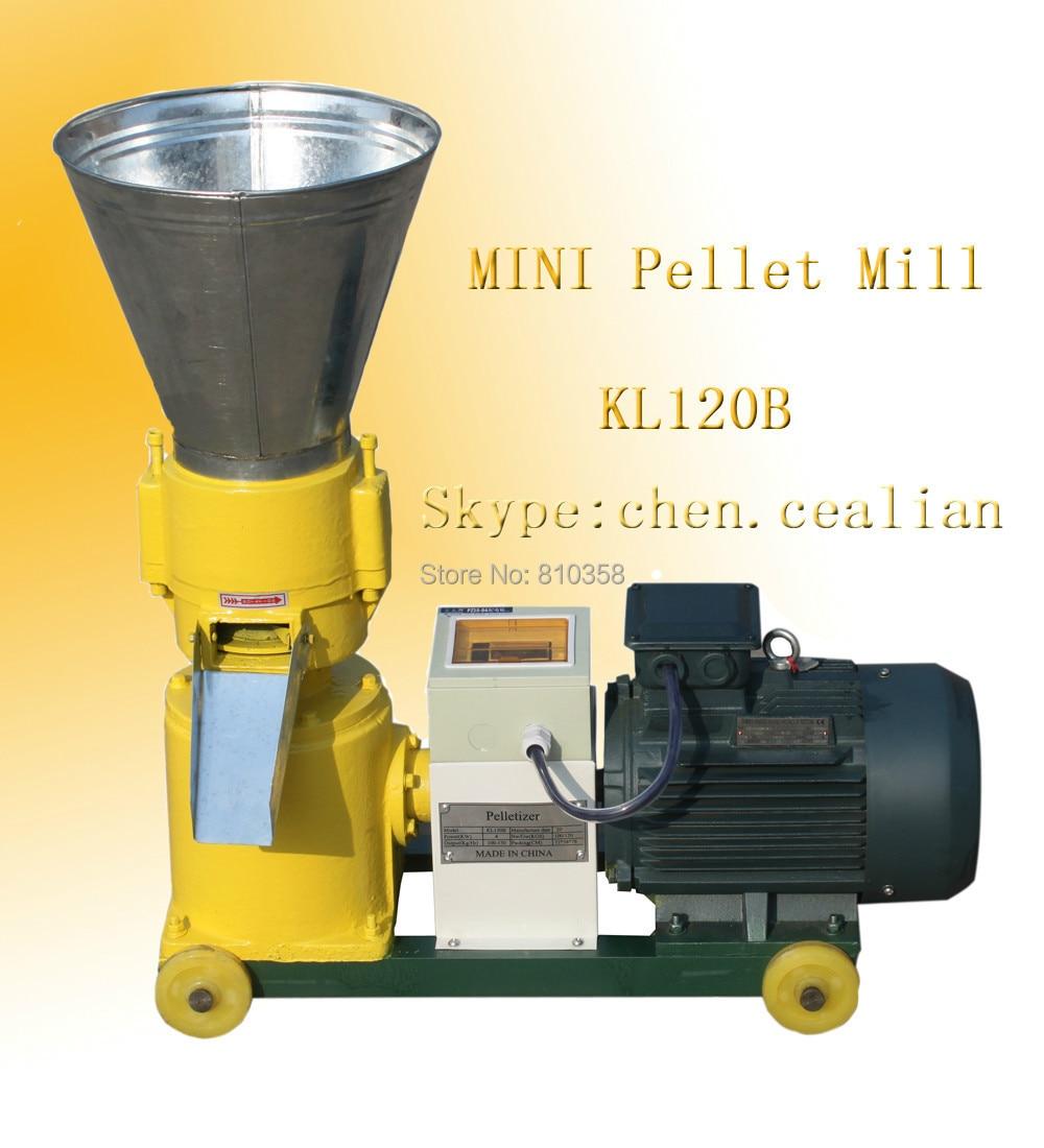 3kw Electric Engine Biomass Wood Sawdust Pellet Mill With 3 Mm, 6 Mm, 9 Mm Diameter Extra Dies Matrix