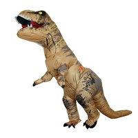 Inflatable Dinosaur T REX Costumes for Adult Kids Women Men Blowup Dinosaur Carnival Halloween Dino Cosplay Costume Dino Cartoon